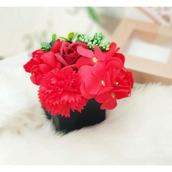 Aranjament trandafiri sapun, Magic, 20 cm