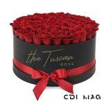 Aranjament floral trandafiri sapun