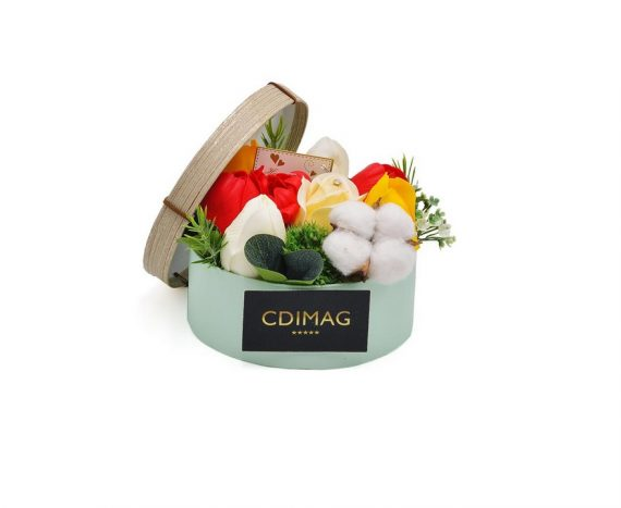 Cutie cu lalele de sapun, Hand Made by CDIMAG®