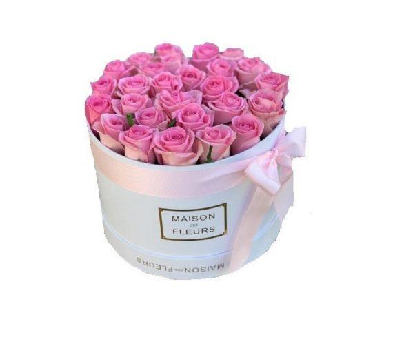 Cutie cu 30 trandafiri de sapun fosforescenti