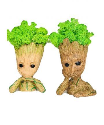 Figurina I'm Groot cu licheni -23