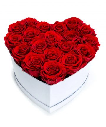 Inima din trandafiri de sapun