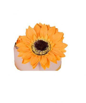 Martisor floarea soarelui de sapun-2