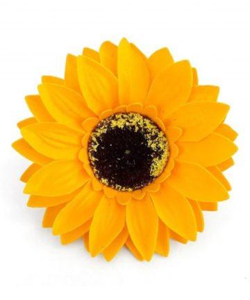 Martisor floarea soarelui de sapun