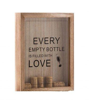 Tablou pentru dopurile de vin si bere 25 cm