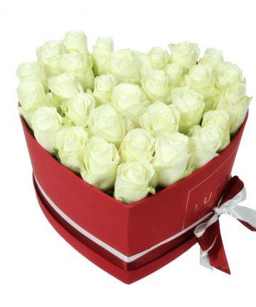 Trandafiri de sapun albi