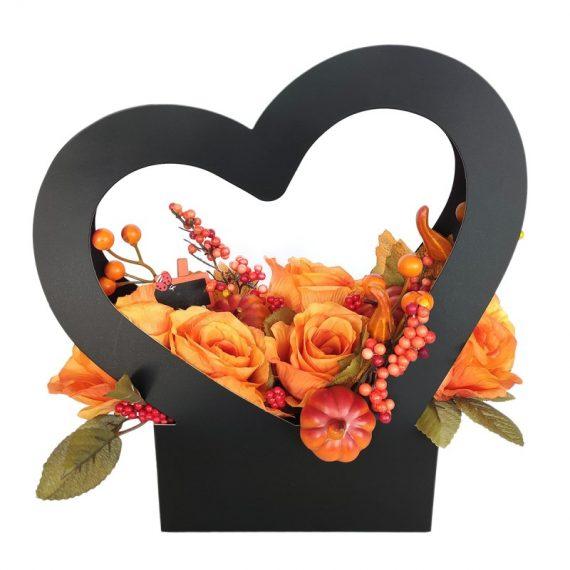 suport-pliabil-negru-inima-pt-flori-35-cm
